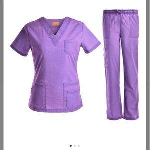 NWOT Stretch scrubs set